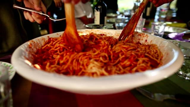 Pasta matriciana is ready video
