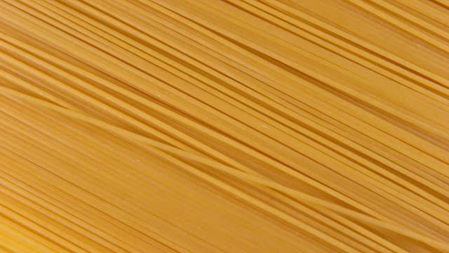 Pasta turning, Slow Motion 4K video