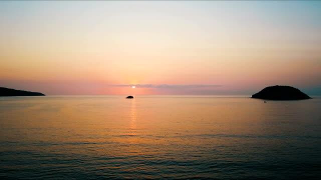 Pastel Sunset Islands video