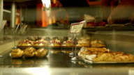 Pastries in a french bakery video