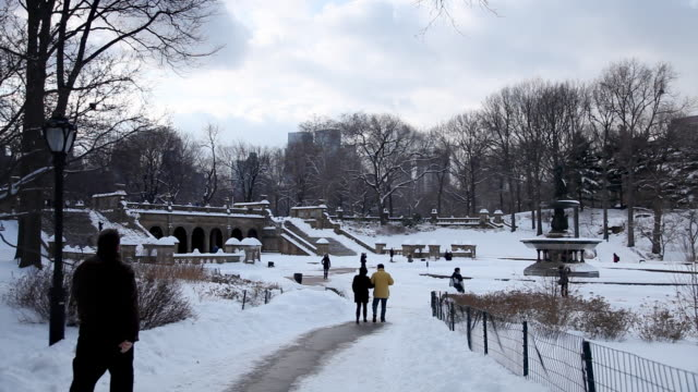Path To Bethesda Fountain video