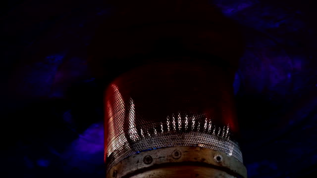 Patio heater video