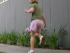 Patriotic Child: Dancing while Waving USA Flag video
