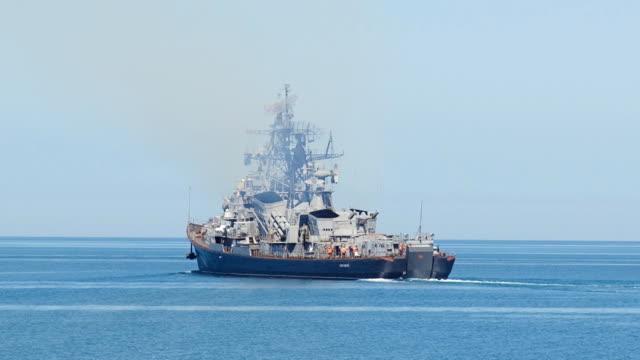 patrolling warship video