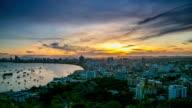 Pattaya Bay Morning Viewpoint video
