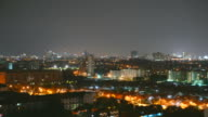 Pattaya city time lapse video