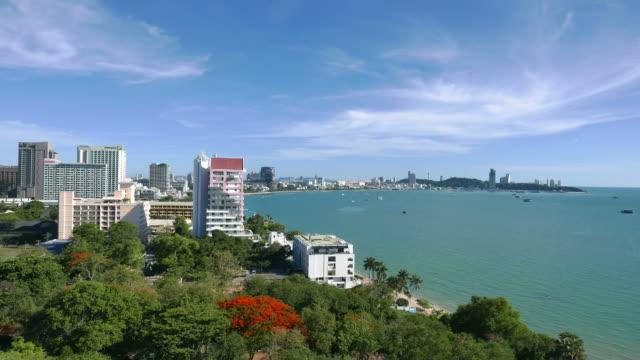 HD Pattaya city time-lapse video