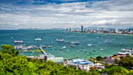 Pattaya harbor video