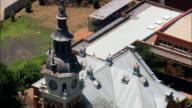 Paul Kruger Church   - Aerial View - Gauteng,  City of Tshwane Metropolitan Municipality,  City of Tshwane,  South Africa video