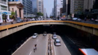 Paulista Avenue Sao Paulo Brazil video