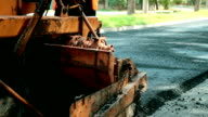 Paving A Road video