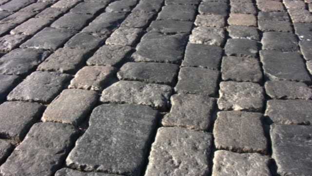 Paving stone. Moscow. video