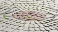 Paving stones texture video