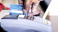Paying by credit Card Machinery video