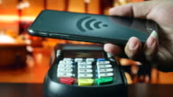 Paying by smart phone on Credit card reader, Contactless payment video