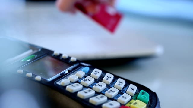 Payment with credit card video