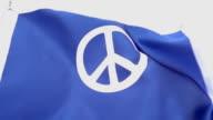 Peace Flag High Detail video