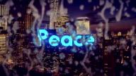 Peace of Mind, Urban Scene video