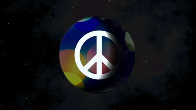 Peace on earth concept video