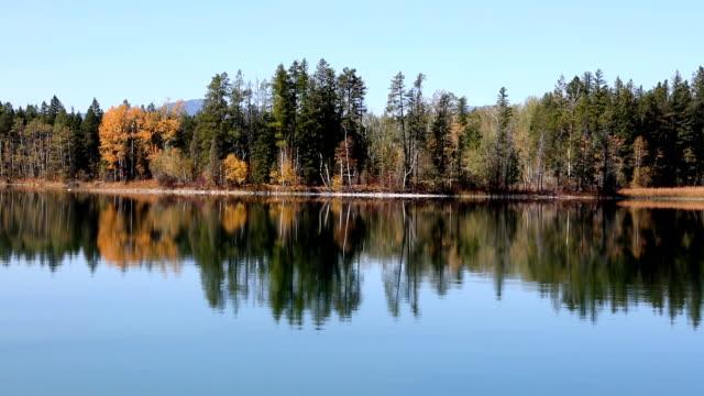 Peaceful Mountain Lake Reflection video