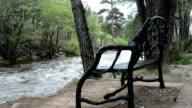Peaceful mountain resort video