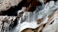 Peaceful Mountain Stream With Rapids video