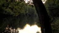 Peaceful River At Sunset video