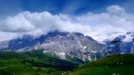 peaks of the Interlaken in Switzerland video