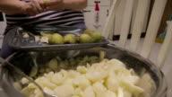 Pealing Pears video