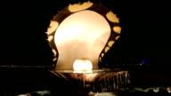 Pearl Fountainn in Doha, Qatar video