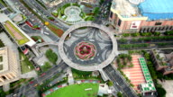 Pearl Ring Roundabout in Shanghai China, China video