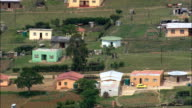 Peddie  - Aerial View - Eastern Cape,  Amathole District Municipality,  Ngqushwa,  South Africa video