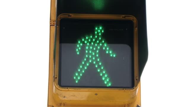 Pedestrian Light HD video