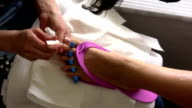 Pedicure video
