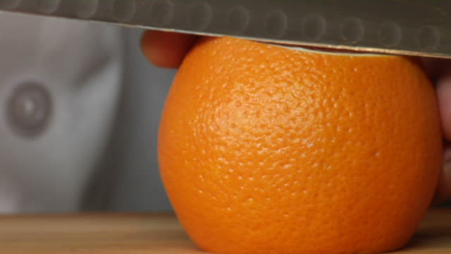 Peeling a Blood Orange video