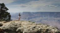 Peering Out at Grand Canyon video