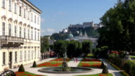 Pegasus Fountain - Salzburg, Austria video