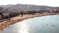 Peñiscola Beach from the Castle video