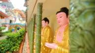 Penang  Kek Lok Si Malaysia buddha Temple video