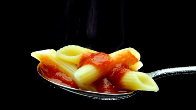 Penne Pasta and tomato sauce video