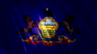 Pennsylvania State Loopable Flag video