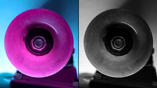 Penny board wheels spin creative collage video