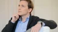 Pensive man video