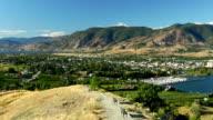 Penticton City Okanagan Valley British Columbia video