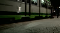 People and tramway video