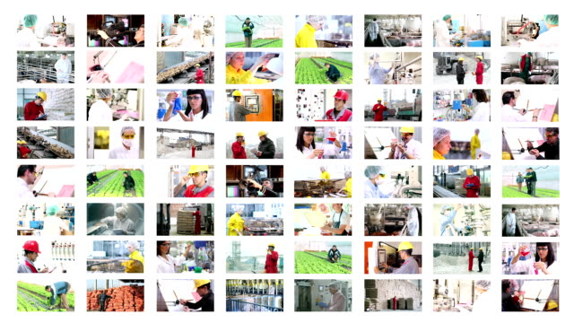 People at Work - Collage video