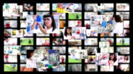 Personnes au travail - Vidéo