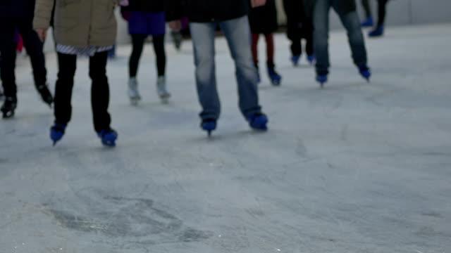 People Ice Skating video