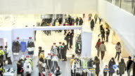 People  in a mall video