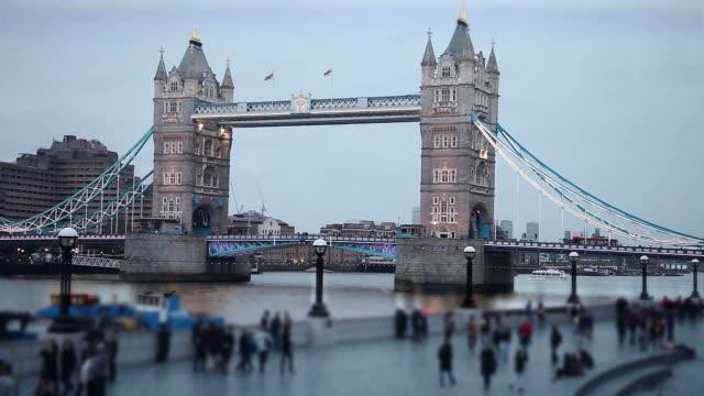 People in London video